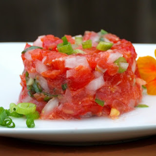 Hawaiian {Lomi Lomi} Salmon Recipe