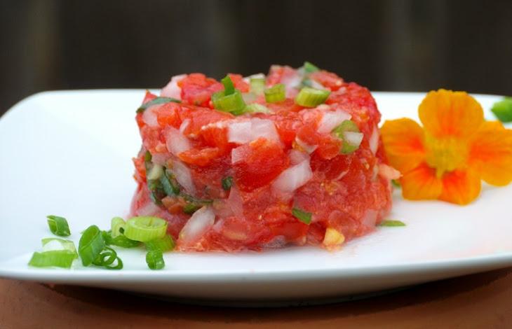 Hawaiian {Lomi Lomi} Salmon Recipe