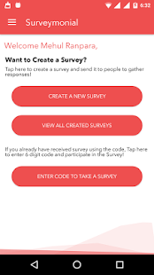 Surveymonial- screenshot thumbnail