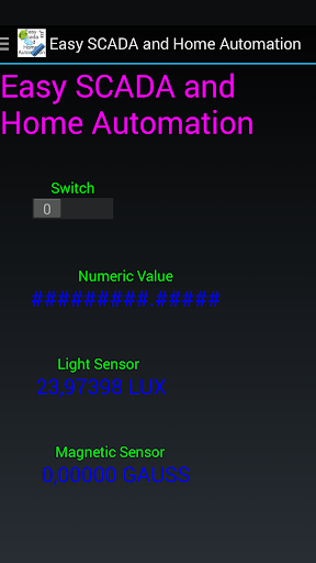 Easy SCADA And Home Automation