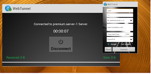 Tải VPN Over HTTP Tunnel:WebTunnel cho Android - Download