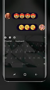 Simple Black Keyboard Theme for HUAWEi Wallpaper - náhled