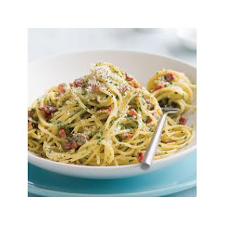 Mom's Spaghetti Carbonara!