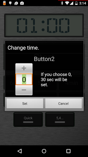 Talking Countdown Timer L  screenshots 5