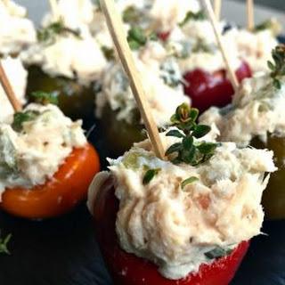 Tuna-Stuffed Peppers.