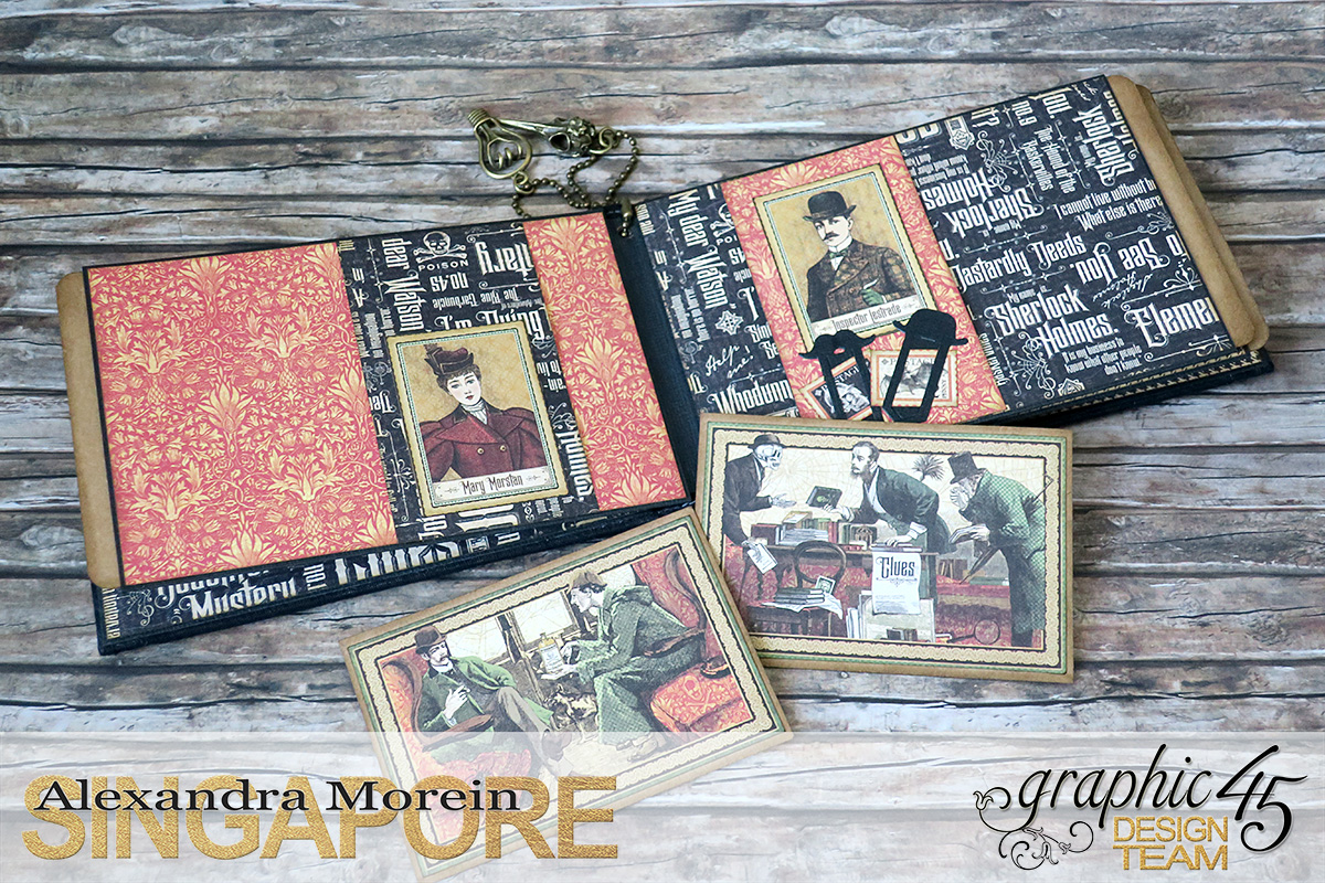 Master Detective Box and Albums, Project by Alexandra Morein, Product by Graphic 45, Photo 17.jpg