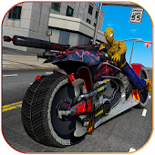 Moto Spider Traffic Hero