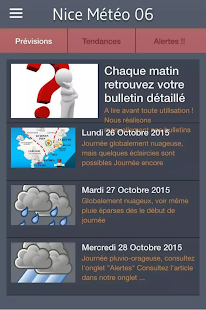 Météo 06- screenshot thumbnail
