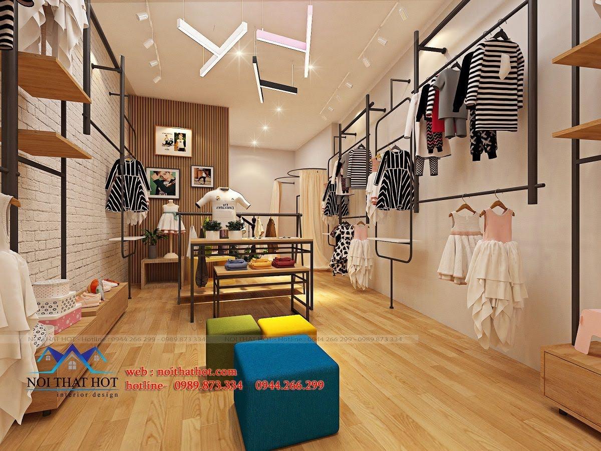 thiết kế shop thời trang trẻ em 24.baby 9