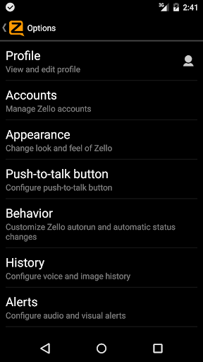 Zello PTT Walkie Talkie