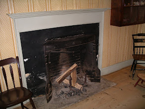 Photo: fireplace in the Fitch house