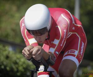22-jarig Deens tijdrittalent voor de tweede keer Europees kampioen tegen de klok bij de beloften, Van Eetvelt negende