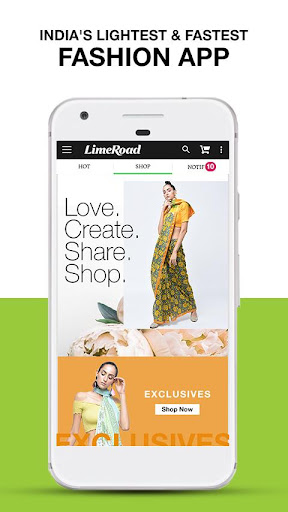 LimeRoad Online Shopping App 5.6.7 screenshots 1