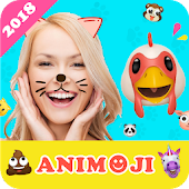 Animoji for phone X+ Live Emoji Face Swap Emoticon