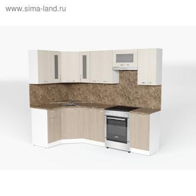 Кухонный гарнитур Ольга оптима 1 1300*2500 мм