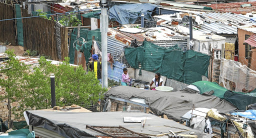 FILE IMAGE: Joburg has poorest record in upgrading informal settlements.
