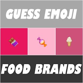 Guess Emoji : Food Brands