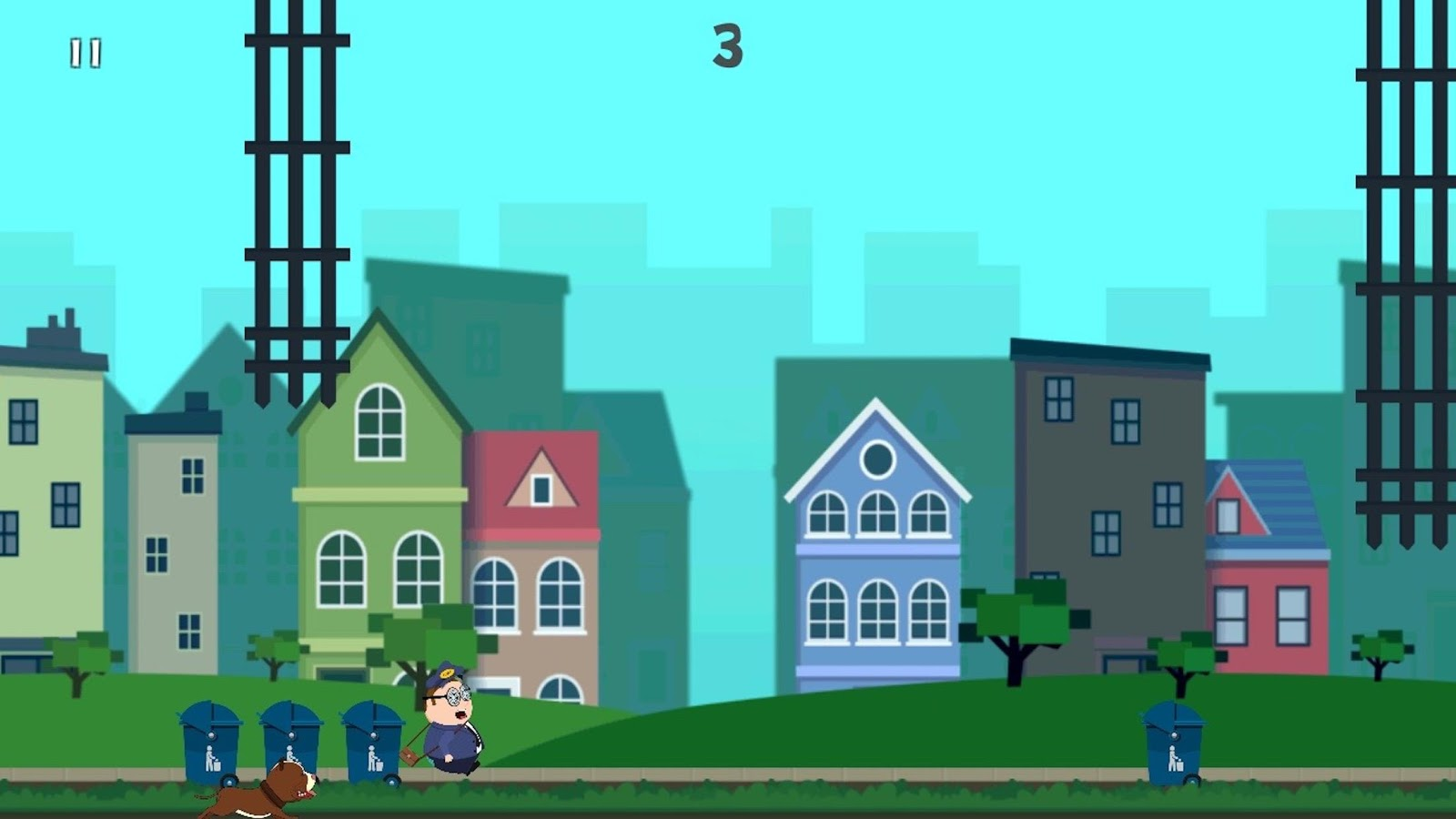Tappy Postman – Jumping game- screenshot