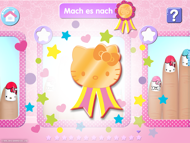 android Salon de manucure Hello Kitty Screenshot 9