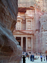 Photo: The Treasury was prominently featured in the Indiana Jones movie.