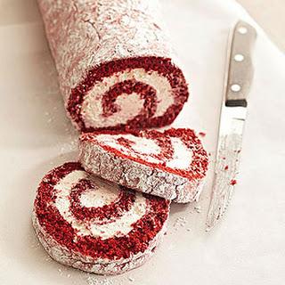 Red Velvet Cake Roll