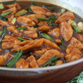 Mongolian Chicken.