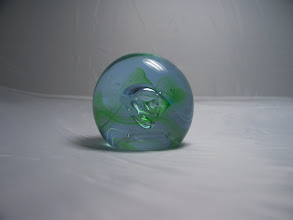 """Photo: Caithness Mooncrystal of 1985 (""""style 1"""") - Green"""