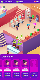 Idle Beauty Salon: Hair and nails parlor MOD (Unlimited Money) 5
