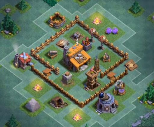 Builder Hall Base Coc Complete 1.0 screenshots 5
