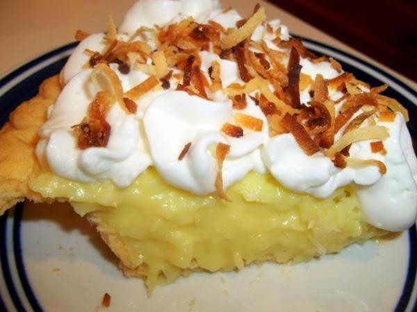 ~ Lazy Day Coconut Cream Pie ~ Recipe