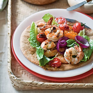 "Grilled Shrimp ""Souvlaki"""
