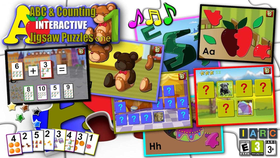 Kids ABC and Counting Puzzles- screenshot