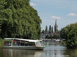 Photo: Balade touristique en bateau mouche à Briare.