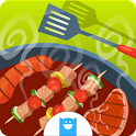 BBQ Grill Maker - Cooking Game icon
