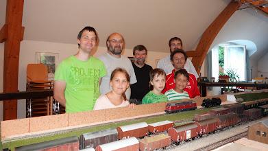 Photo: Modeleisenbahn spielen und selbst aufbauen Foto: G. Zimmer