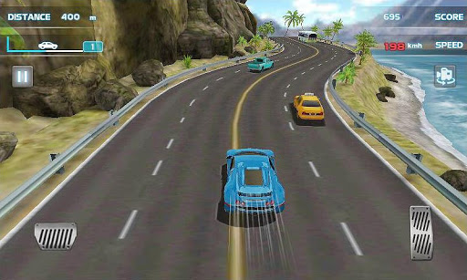 Turbo Driving Racing 3D  captures d'écran 1