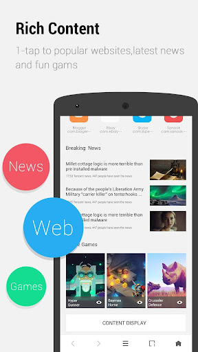 APUS Browser - Fast Download for PC