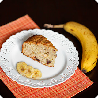 Banana-cherry Breakfast Cake