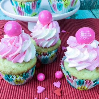 Bubble Gum Cupcake.