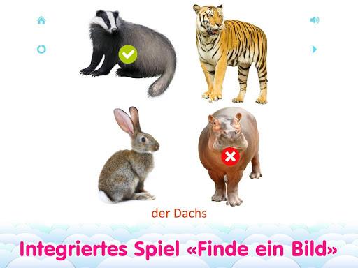 玩教育App|儿童德语抽认卡 – 幼儿看图说话认字启蒙教育免費|APP試玩
