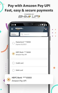 Amazon India Online Shopping and Payments Screenshot