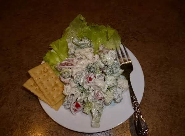 Christmas Crunch Salad Recipe