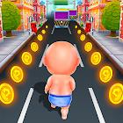 Princess Baby Run - Baby Jungle Escape Run icon
