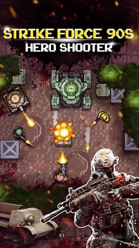 Strike Force 90s : Hero Shooter - War Machines 1.0.6 screenshots 1