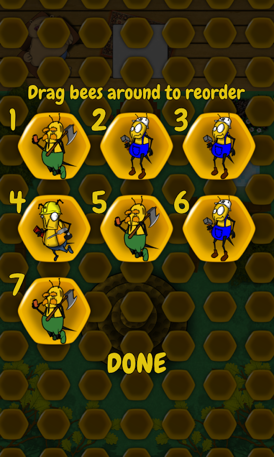 Hammer Bees (Free)- screenshot