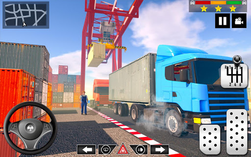 Cargo Delivery Truck Parking Simulator Games 2020 apkmr screenshots 8