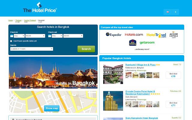 Best Hotel Deals in Bangkok - Hotel Finder