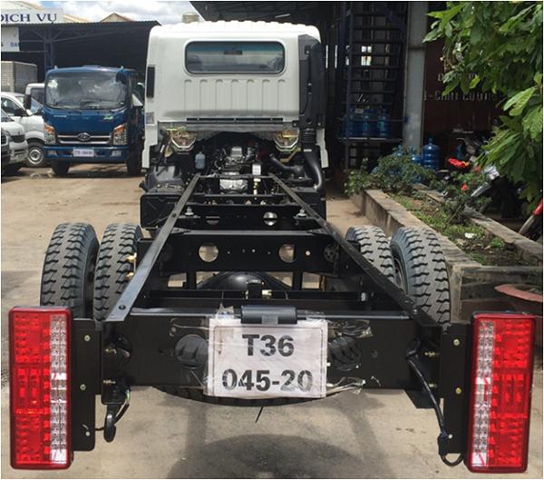 Bán xe tải veam VT260 1T9 mới 2018 thùng 6m2 vào thành phố