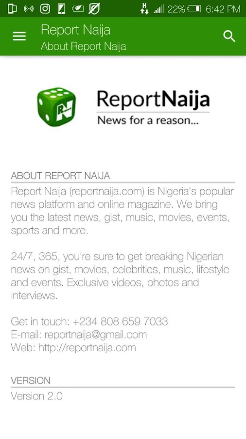 Report Naija- screenshot