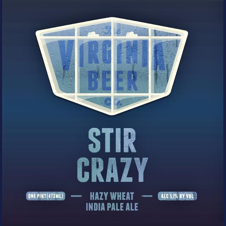 Logo of Virginia Beer Co. Stir Crazy Hazy Wheat IPA